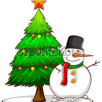 stromek a sněhulák